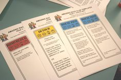 Amazing Race Clues Template | put them into a clue box that you can make with our Amazing Race clue ...