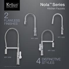 Found it at Wayfair - Nola™ Single Lever Commercial Style Kitchen Faucet