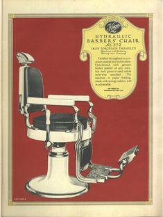 Vintage Barbers' chairs