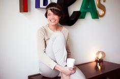 La journaliste ELLE BELGIQUE Céline Pécheux pour CCS