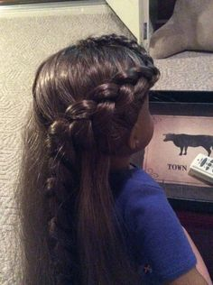 Wrap around Braid as seen in the movie catching fire.