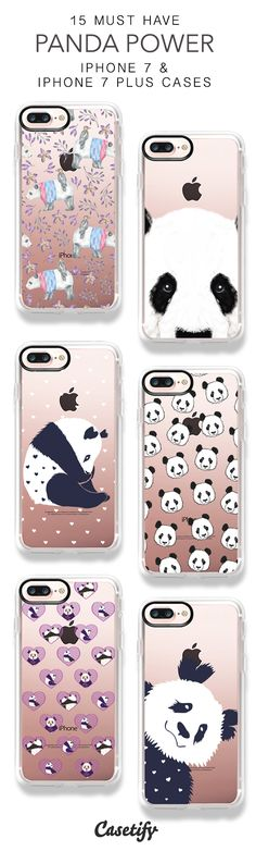 15 Must Have Panda Power iPhone 7 Cases & iPhone 7 Plus Cases here > https://www.casetify.com/collections/top_100_designs#/?vc=yjwsGIi6KA