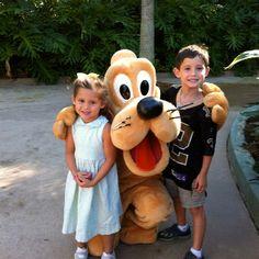 My angels at Disney.