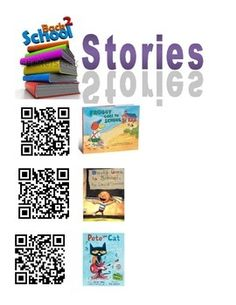 This file has more than 100 QR codes with pictures of the book covers that link to youtube read alouds/alongs. They are sorted by month, author, and extras. Attach them to the covers of your books or place a few in a pocket chart for kids to access.