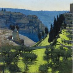 Andrew Gifford: Two Cities Paintings of Jerusalem and Ramallah