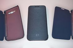 Toko Aksesories Gadget: Flip Cover Samsung E7