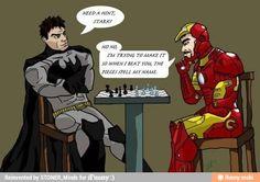 Tony Stark: Nothin' he can't do.
