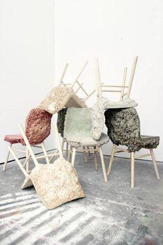 Well Proven Stool Chair by Marjan van Aubel & James Shaw - Label Website & Shop