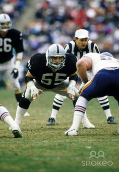 Matt Millen Oakland Raiders Los Angeles Raiders Silver and Black