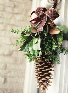 Kerst deurhanger made by Tintwin