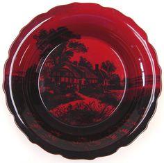 Royal Doulton Flambe Bowl Designed by Charles Noke