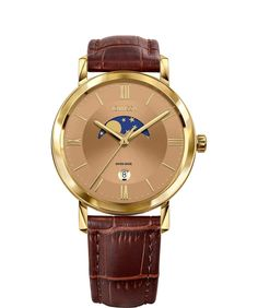 The best Swiss made watches for Men celebrate functionality and style. Swiss made men watches at an affordable price. Perfect Gift For Him, Seiko Watches, Luxury Watches For Men, Beautiful Watches, Automatic Watch, Stainless Steel Case, Cool Watches, Gold Watch, Roman Numerals
