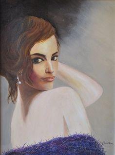 """""""Premio Charm of Art"""" 2016. -  Opera Pittorica: """"Sensualità"""" -  Artista: Gabriella Privitera -  40x30, olio su tela"""