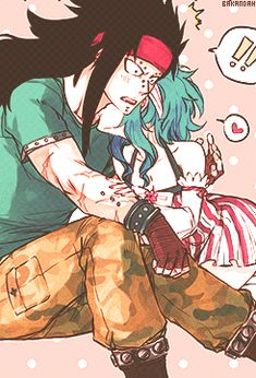 Gale Fairy Tail my OTP ft Gajeel Redfox Levy McGarden fairy tail ...