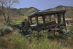 Victorian Hearse, Bodie - California Ghost Town...