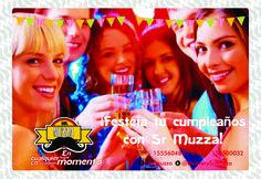 Festeja tu cumpleaños con las mejores pizzas!!