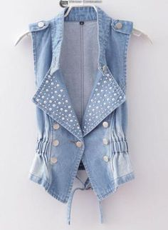 A dressier vest for rompers, maxis, ect. :)