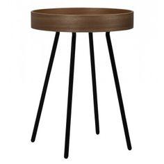 Table basse ronde plateau amovible Ø 46,5 chêne Oak Tray Zuiver