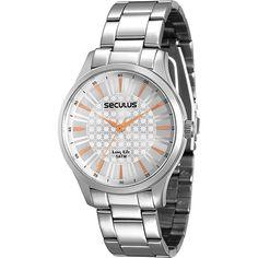 2a273d4997b Relógio Feminino Seculus Analógico - 28507l0sgna1 - Shoptime Relógio  Feminino
