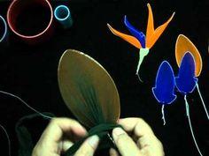 flores exoticas de nylon