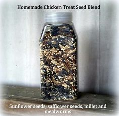 Homemade Chicken Treat Seed Blend