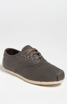 TOMS Cordones Twill Slip-On (Men) available at #Nordstrom