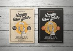 New Year Flyer by lilyshop on @creativemarket