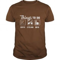 Awesome Tee Coffee - Cycling - Beer Tshirt T-Shirts