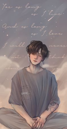 """JEON JUNGKOOK I love you so much ; Jungkook Fanart, Jungkook Cute, Kpop Fanart, Jimin, Bts Chibi, Cartoon Wallpaper, Bts Wallpaper, Kawaii Wallpaper, Kpop Drawings"