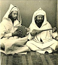 Tangiers Postcard Image c 1910s - Rifi Musicians by ronramstew on Flickr.