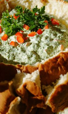 Herbed Spinach Dip | The Curvy Carrot Herbed Spinach Dip | Healthy and Indulgent Meals Dangling in Front of You
