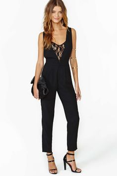 In Too Deep Jumpsuit in What's New at Nasty Gal