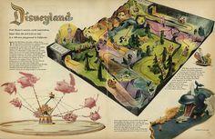 Disney Fantasyland rides (1955)