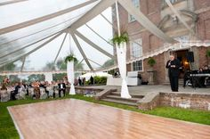 Castle Hill at the Crane Estate perfect clear event tent for an outdoor wedding PERFECT