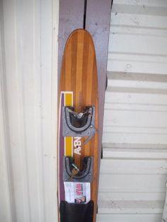 Vintage Waterski Key and Misc Holder  Price : $109.00 http://www.longlakelifestyle.com/Vintage-Waterski-Key-Misc-Holder/dp/B00B0IFF2Y
