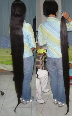 Very Long Hair, Long Hair Cuts, Long Hair Styles, Rapunzel Hair, Amazing Hair, Cut Off, Hair Lengths, Ponytail, Cool Hairstyles