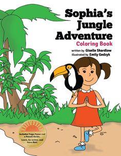 Sophias Coloring Book   Kids Yoga Stories