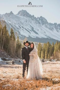 If you're thinking about eloping in Colorado, our blog will give you ideas, tips and photography inspiration! Destination weddings in Telluride, Ouray and Ridgway are our specialty, and we have packages for all budgets! Plus we will show sample photos of ceremony sites to help you choose a location for your outdoor adventure elopement. Exchange vows at a summer waterfall, Jeep to a 14,000-foot peak, yellow Aspen trees in the fall, or elope at a snow-covered mountain in winter.