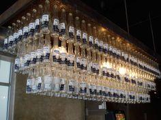 Chandelier made from corona beer bottles lighting the way mad mex corona chandelierstudiohamyellowtraceg 620463 mozeypictures Images