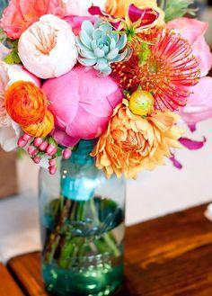 Bright Floral Arrang