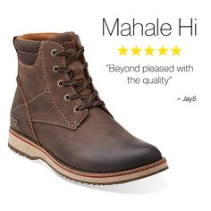 Clarks Customer Favorites | Mahale Hi | men's boots