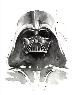 star wars watercolor painting - Buscar con Google