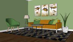 Innred med nabofarger - Innredningsguiden Chair, Furniture, Home Decor, Alternative, Decoration Home, Room Decor, Home Furnishings, Stool, Home Interior Design