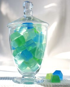 DIY soap cubes! cute decoration for a bathroom!