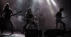 from a gig in Östersund - Wacken Metal Battle. We won that part of the comp.