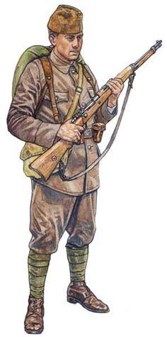 Szeregowy piechoty dywizji liniowej armii tureckiej
