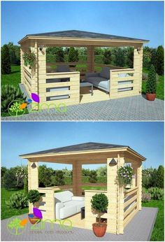 Shocking wooden pallet ideas for your home beauty # garden furniture . garden # diypallet - DIY pallet creations, Stunning wooden palette ideas for your beauty at home Yard Though old within principle, the pergola may be encountering a bit of a. Pallet Pergola, Pergola Diy, Outdoor Pallet, Pergola Garden, Outdoor Pergola, Backyard Landscaping, Landscaping Ideas, Outdoor Decor, Outdoor Living