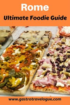 Ultimate foodie guide for Rome- www.gastrotravelogue.com