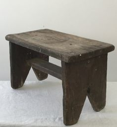 Hey, I found this really awesome Etsy listing at https://www.etsy.com/listing/222759049/vintage-folk-stool-rustic-stool-barn