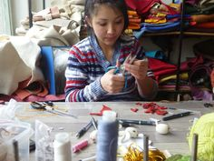 Our artisans are hard at work hand-making our collection--go behind the scenes and visit their studios with us!